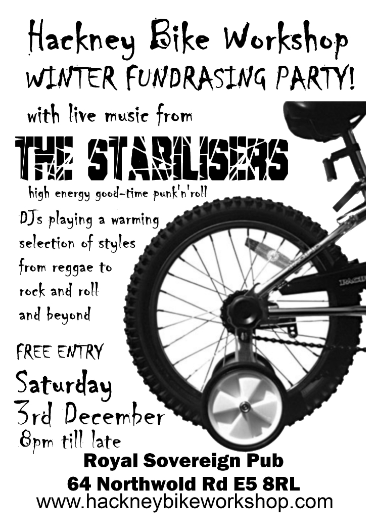 Hackney Bike Workshop Party